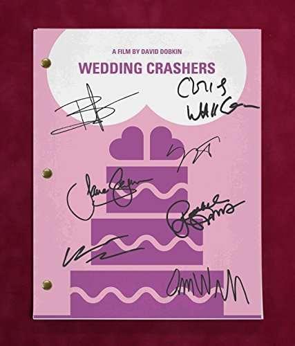 Wedding Crashers Script W/Reproduction Signatures Vaughn